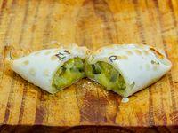 Empanada zapallo y queso light