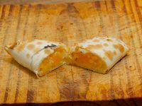 Empanada calabaza y queso light