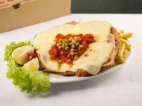 Milanesa napolitana de carne (para uno)