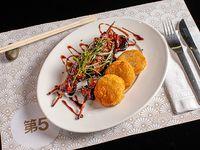 Yakitori de pollo al grill a leña  (apto para celíacos)