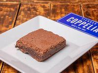 Cuadradito de brownie sin nuez