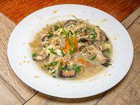 Sopa de hongo chino veggie