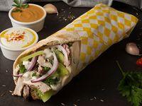 Shawarma Combinado Res y falafel