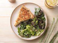 Tarta de verdes con mix de verdes de la huerta (veggie)