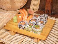 Combinado de salmón (12 piezas)