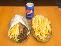 Promo Gigante - Shawarma Gigante+Papas fritas+Gaseosa 354ml
