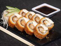 Ebi chizu hot roll (8 piezas)