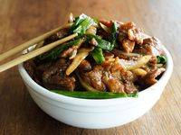 Carne a la mongolia
