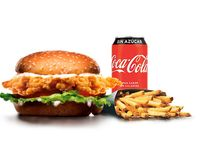 Combo - Big chicken + papas (porción grande) + bebida en lata 350 ml