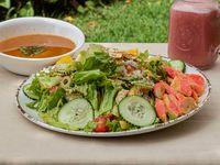 Ensalada Palmitos de Cangrejo + Sopa + Jugo
