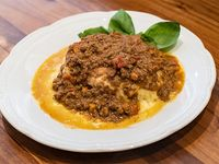 Lasagna de ricota, verdura y carne