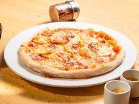 Pizza personal mele e provolone