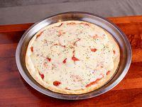 Promo - pizza grande muzzarella (8 porciones)
