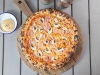 Pizza de Prosciutto y Funghi