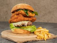 California Burger + Papas Francesa