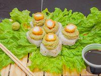 Avocado dragon roll