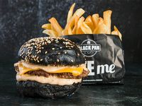Combo - Cheese burger + Papas fritas + Bebida 500 ml