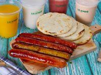 Arepa con Chorizo Criollo