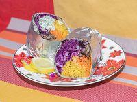 Burrito vegetariano XL (unidad)