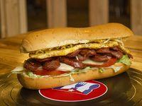 Sándwich Chorizada Tres Cubana