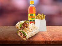 Combo Burrito Mexicano Res