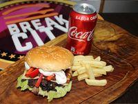 Champiñon Salteado +Papas fritas + bebida