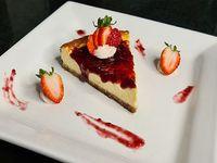 Cheesecake keto New York Frutos Rojos