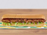 Sándwich Costillas BBQ Melt 30 cm