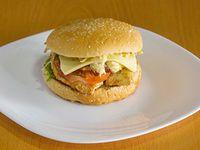 Korean Chicken Burger