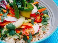 Bowl Vegetarian Love