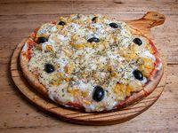 Pizza especial de choclo