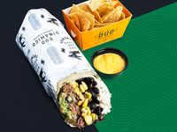 Burrito Tremendo Desmechado