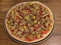 18- Pizza con champignon