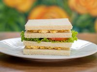 Sándwich de verduras
