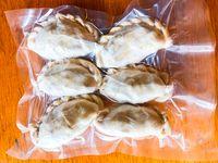 Empanadas Congeladas de Carne Picada, Jamón y Queso o Pollo