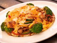 Arepa Oriental Gratinada Vegetariana