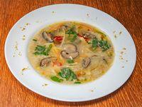 Sopa de verdura china picante