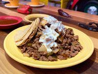 Tacos de Alambre Rib Eye  2 Personas