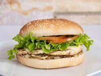 Hamburguesa Sencilla + Porción de Papa Chip + Gaseosa Mini