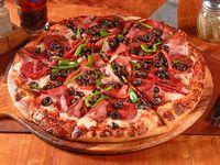Pizza española familiar (38 cm)