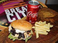 Chicken Champ + Papas fritas + bebida