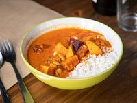 Rendang curry de lentejas