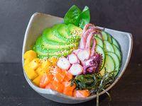 Sushi bowl Orenji