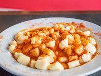 Menú - Ñoquis de papa con salsa fileto