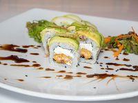 Salmón green roll (10 piezas)
