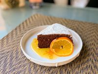 Japanes Cotton Chocolate Cake