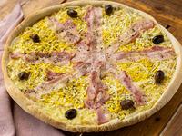 Pizza especial con panceta
