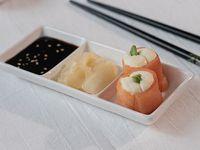 Geishas salmón ahumado (6 unidades)