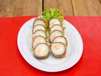 Hot maki salphi (10 piezas)