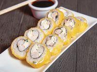 3. Ebi cheese roll (10 piezas)
